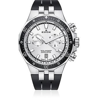 Edox - Armbanduhr - Herren - Delfin - Chronograph - 10109 3CA AIN