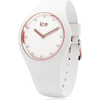 Ice Watch Armbanduhr Unisex ICE cosmos White Rose-gold Small 016300