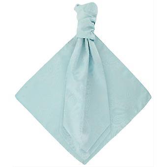 Michelsons Lontoo tonaalinen Paisley Cravat ja Pocket neliö Set - minttu
