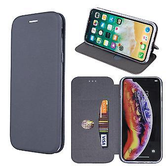 iPhone XS Max - Smart Viva Flip Case Mobil Lommebok - Grå