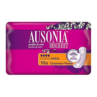 Incontinenza Sanitary Pad Extra Ausonia (10 uds)