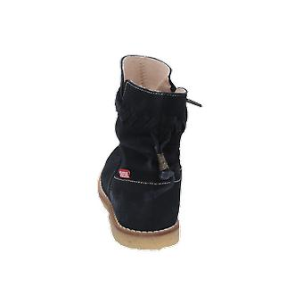 Shoesme CREPE Kids Girls Boots Blue Lace-Up Boots Winter