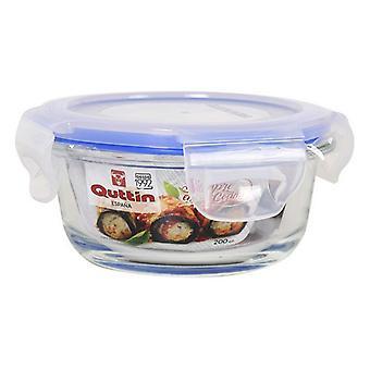 Lunchbox Quttin Glass Circular (200 Cc)