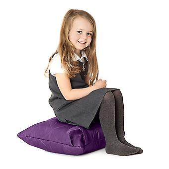 Fun!ture Purple Quilted Water Resistant Cushion Bean Bag