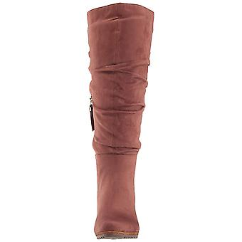 Dr. Scholl's Womens Central Fabric Closed Toe Over Knee Fashion Boots