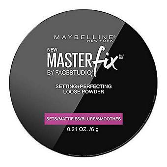 Meikki kiinnitys jauheet Master Fix Maybelline (6 g)