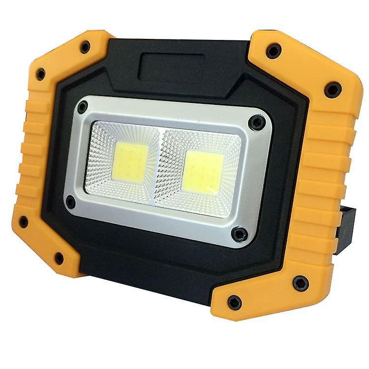Bærbart Utendørs LED Camping Arbeidslys Lys Oppladbart