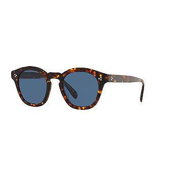 Oliver Peoples Boudreau L.A OV5382SU 165480 Dark Tortoise/Blue Sunglasses