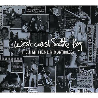 Jimi Hendrix - West Coast Seattle Boy: The Jimi Hendrix Anthology [CD] USA import