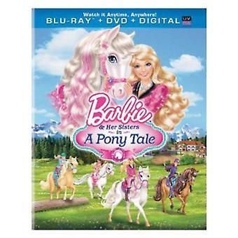 Barbie & hennes søstre i en Pony fortelling [BLU-RAY] USA import