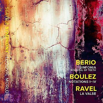 Ravel - Sinfonia / Notations I-IV / Valse [CD] USA import