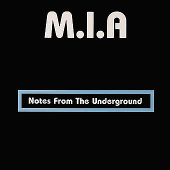 M.I.a. - Notes From the Underground [CD] USA import