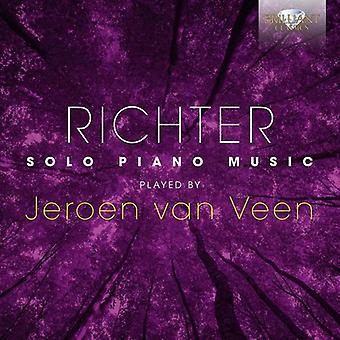 Richter / Veen - Solo de piano [CD] USA import