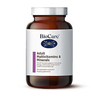 BioCare Aikuisten monivitamiinit ja mineraalit Vegicaps 30 (79630)