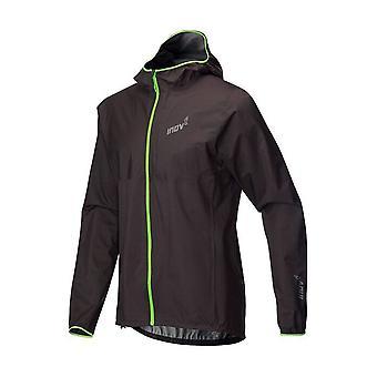 Inov8 Trailshell Mens Full Zip Breathable & Waterproof Running Jacket Black