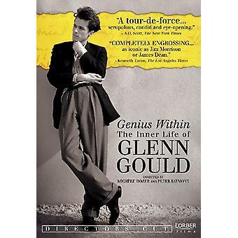 Glenn Gould - Genius Within: La vie intérieure de Glenn Gould [DVD] USA import