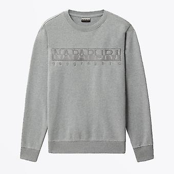 Napapijri  - Berber Crew Sweatshirt - Grey Melange