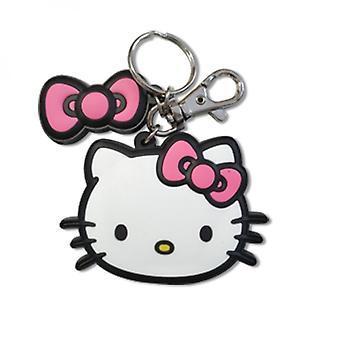 Hello Kitty Big Face Llavero