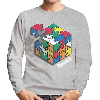 Rubik's hashtag Playtime mannen Sweatshirt