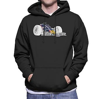 Motorsport Images Red Bull RB11 Nose S Duct Men's Hooded Sweatshirt