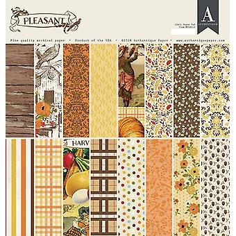 Authentique Pleasant 12x12 pulgadas de papel Pad