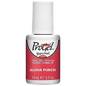 SuperNail ProGel Gel Nail Polish - Aloha Punch 14ml