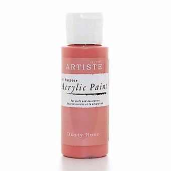 Docrafts Pintura Acrílica (2oz) - Dusty Rose (DOA 763217)