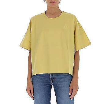 Loewe S359341xa48140 Naiset's Keltainen Puuvilla T-paita