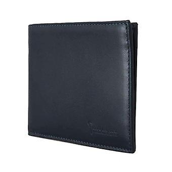 Blue Leather Bifold Wallet -- VAS1074096