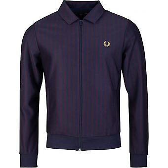Fred Perry Authentics Striped Track Jacket