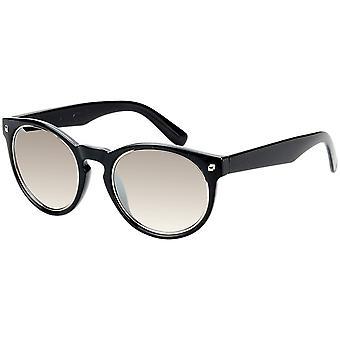 Okulary przeciwsłoneczne Unisex z lustrzanym szkłem czarnym (AZ-17-218)