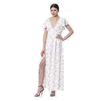 Silvian Heach White Dress SI992628-XS