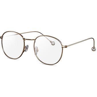نظارات القراءة نظارات المرأة دون قوة الجولة الذهب (CWI2142)