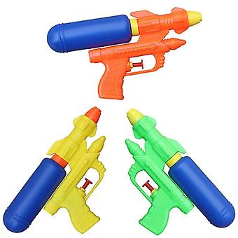 Summer Holiday Kids Water Guns Classic Outdoor Beach Water Pistol Blaster Portable Squirt Gun Toys for Children Gry