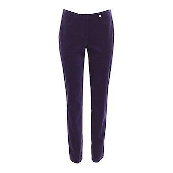 ROBELL Robell Purple Trouser Bella 52457 54363 580