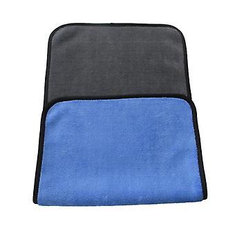Serviette en microfibre double face 3-pack - Bleu