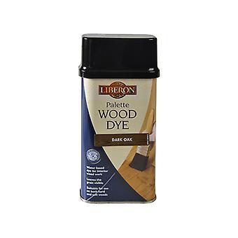 Liberon Palette Wood Dye Dark Oak 250ml LIBWDPDO250