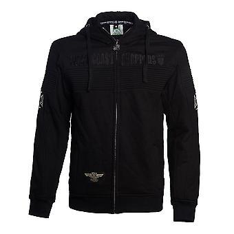 West Coast Choppers Men's Zip Hoodie CFL Black Label