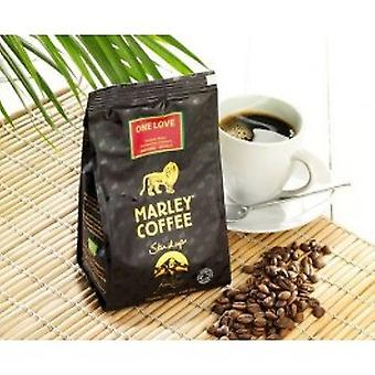 Marley Coffee - One Love torréfaction moyenne ensemble café 227g de haricot