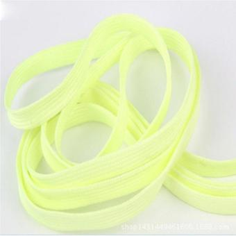 2pcs 120cm Glow In The Dark, Luminous Shoelace Stickers - Fluorescent Toy