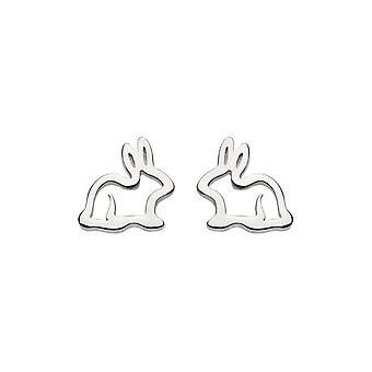 Dew Sterling Silver Dinky Hop To It Bunny Stud Boucles d'oreilles 4044HP014