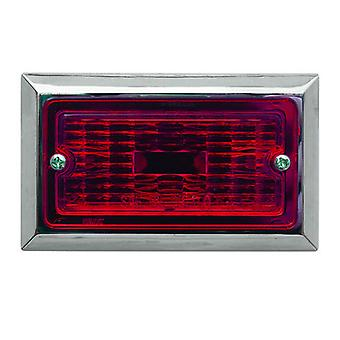 Optronics MC71-RS Flush Mount Clearance Light Red