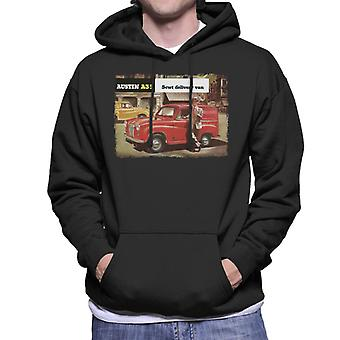 Austin A35 5cwt Delivery Van British Motor Heritage Men's Hooded Sweatshirt