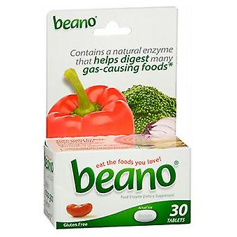 Beano Food Enzyme Dietary Supplement Tablets, 30 Tabs