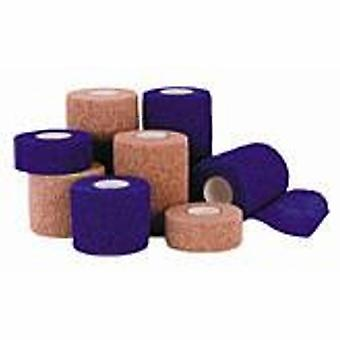 Andover Coated Products Cohesive Bandage Co-Flex ?Med 3 Inch X 5 Yard Standard Compression Self-adherent Closure Neon Pink /, Case of 24