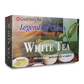 Uncle Lees Teas Legends of China White Tea, Organic , 100 Bag