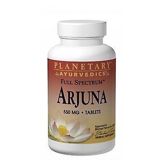 Planetary Herbals Arjuna Full Spectrum, 550 mg, 120 tabs