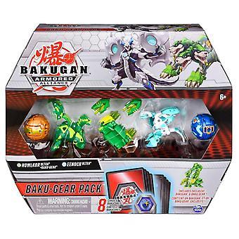 Bakugan Baku-Gear Pack S2 - Howlkor Ultra & Eenoch Ultra 4-Pack