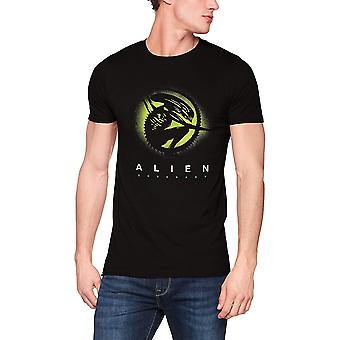 Alien Unisex Adults Xeno Silhouette Design T-Shirt