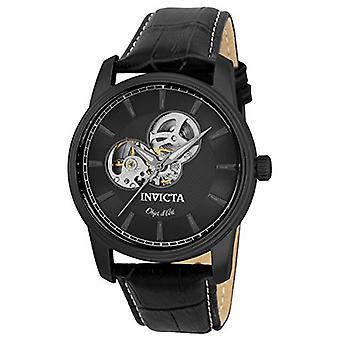 Invicta  Objet D Art 22619  Leather  Watch